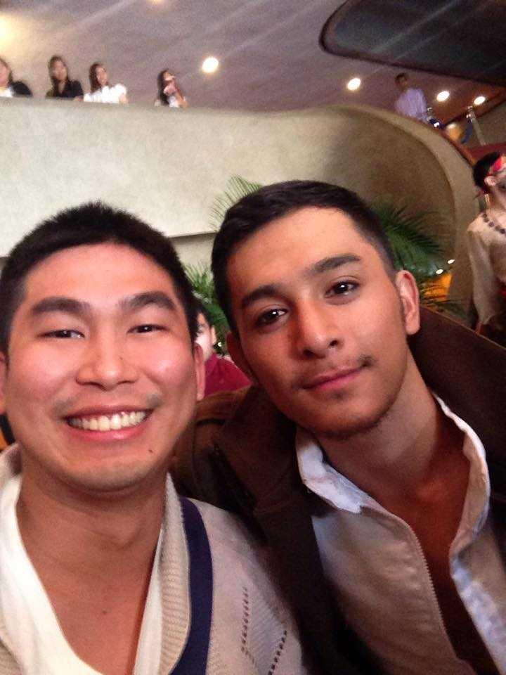 Selfie with Sandino Martin, who plays Bantugan