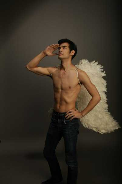Victoria's Secret model TBH (got this from his VK)