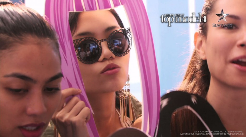 AsNTM4 Episode 3 - Sang In and her pink hair