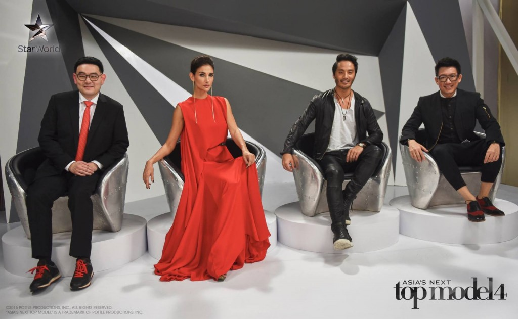 AsNTM4 Episode 4 - Glenn, Cindy, Yu Tsai and Daniel are this week's judges