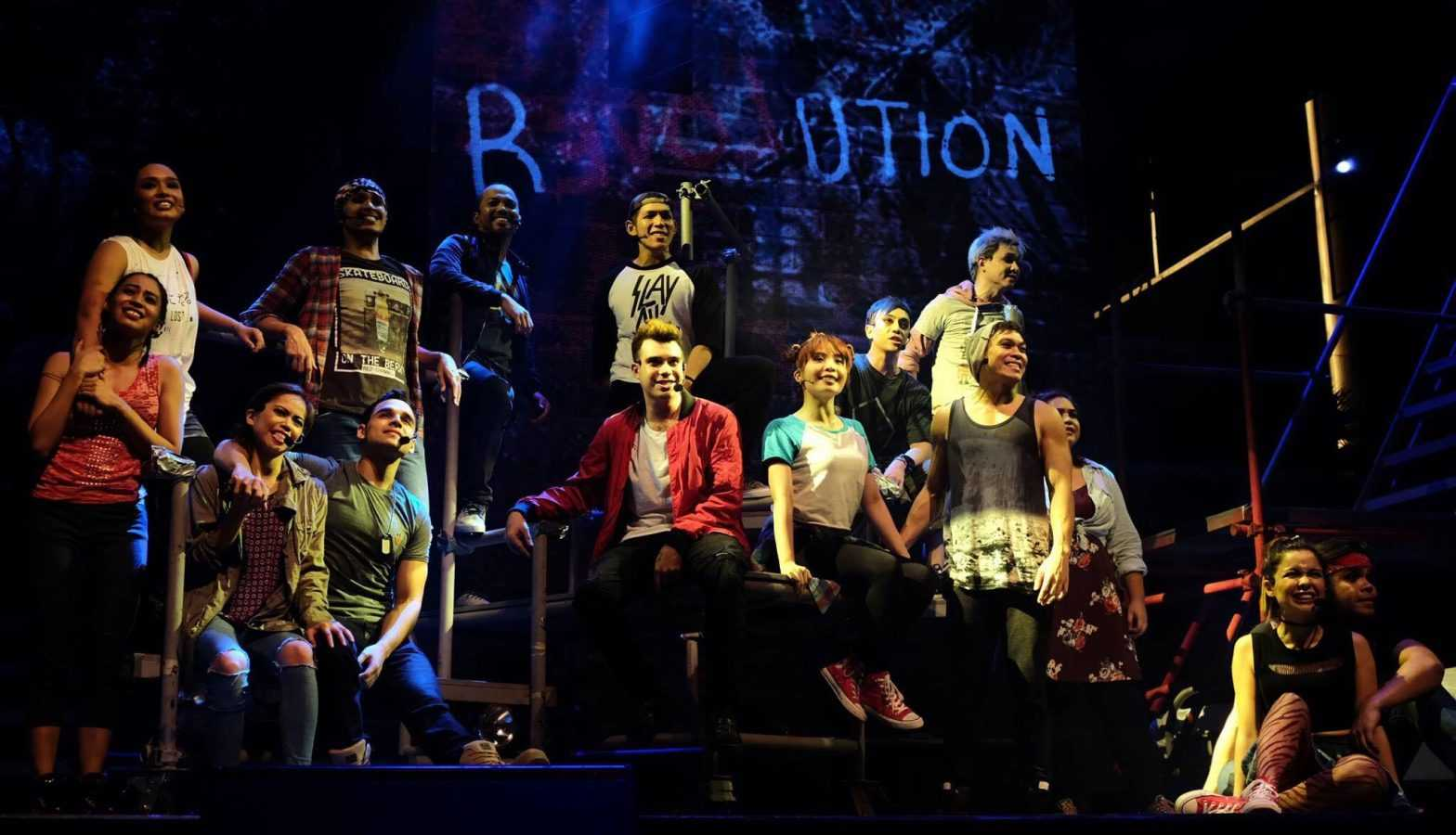 Cast of American idiot