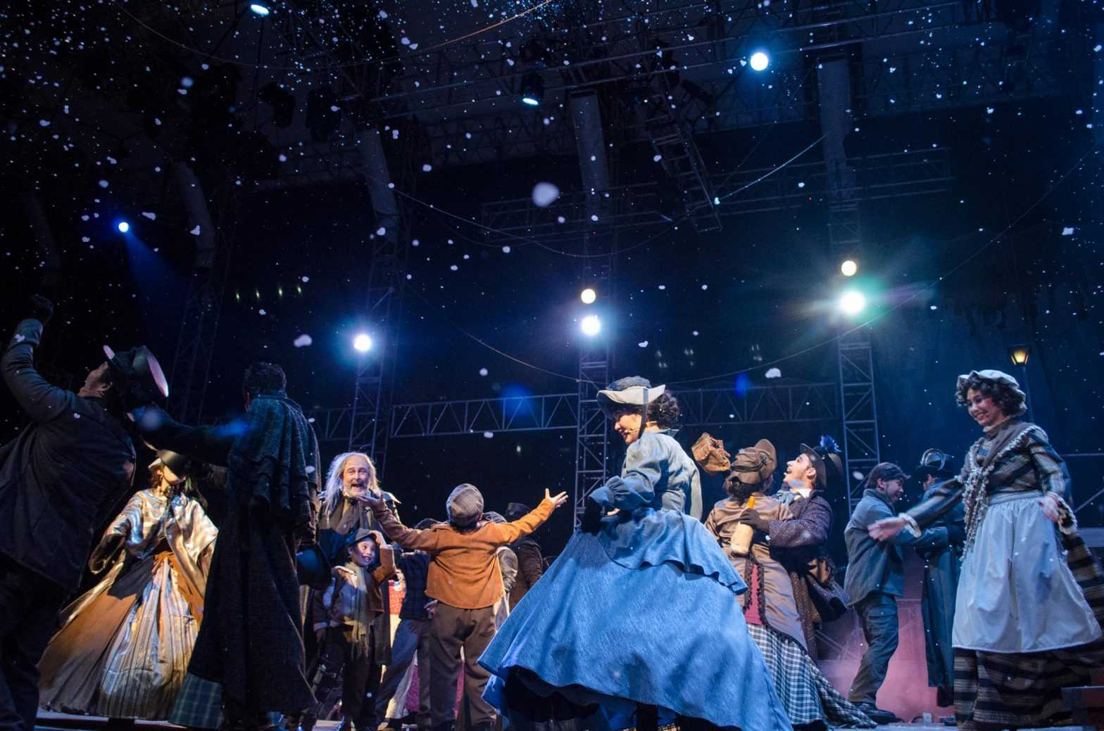 "9 Works Theatrical and Globe LIVE!'s ""A Christmas Carol The Musical"" Review"