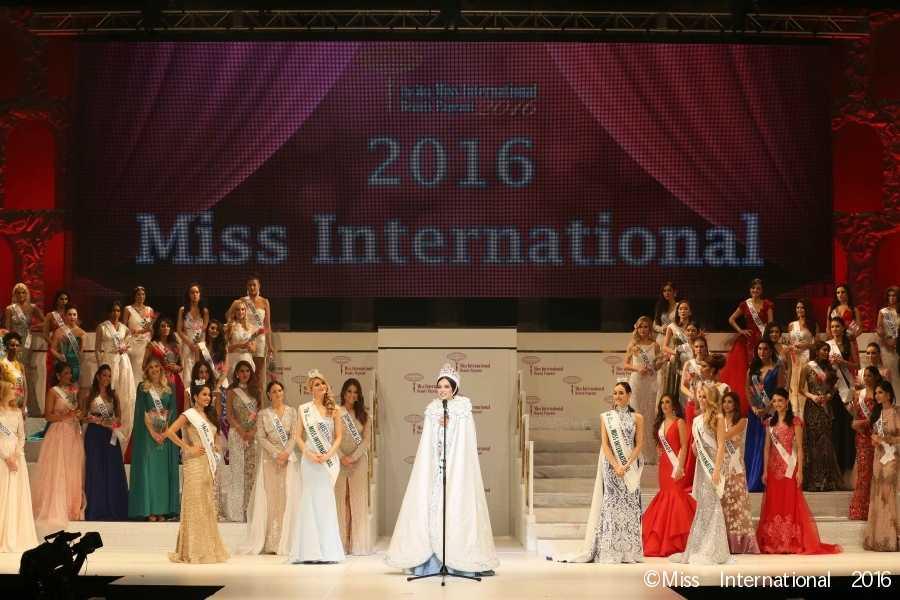 Miss International 2016 Q&A/Speech Round