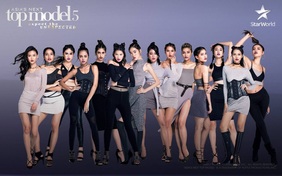 The girls of Asia's Next Top Model Cycle 5